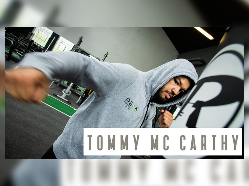 Tommy McCarthy Professional local boxing champion