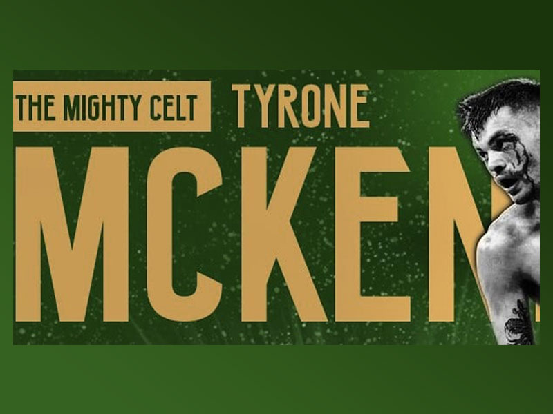 Tyrone McKenna WBC international champion boxer